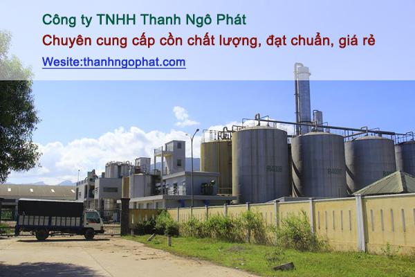 cồn tại công ty TNHH Thanh Ngô Phát